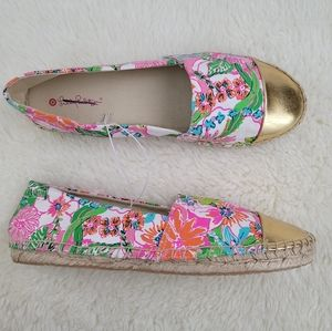 Lilly Pulitzer Target Nosey Posey Espadrille 10.5